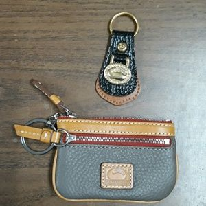 Coin purse and key chain